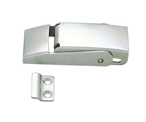Stainless Steel 304 Spring Loaded Draw Latch, Satin Finish, Non Locking, 3 5/32
