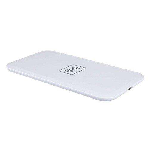 Mallom(TM) 1 Set Qi Wireless Charging Pad+receiver Kit for Samsung Galaxy Note 3 N9000 (White)
