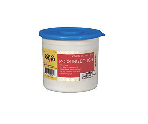 school-smart-non-toxic-modeling-dough-3-1-3-pounds-blue