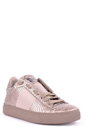 Stokton Sneakers Beige In Pelle Delle Donne Mcbi494002o qF0YCwx