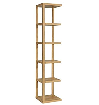 Tall Narrow Corner Bookshelf