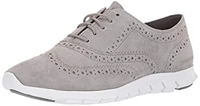 Cole Haan Women's Zerogrand Wing OX Closed Hole II Shoe, Grey, 5 B US