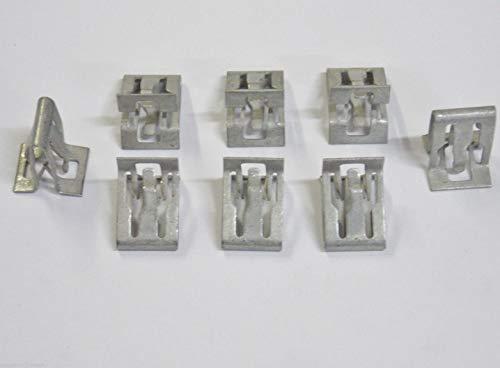 Online Auto Supply 10 GM Interior Trim Bezel & Scuff Plate Clips 11588650 ()