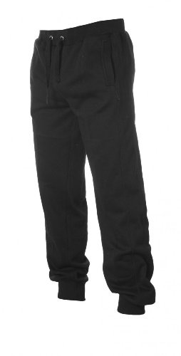 Urban Classics Hommes Straight Fit Sweatpants TB252, couleur:lightgrey;Größe:L