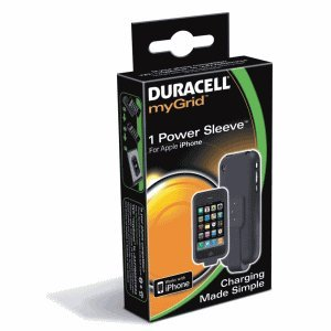 Duracell myGrid Power Sleeve IPhone 3 G/GS Cargador Duracell ...