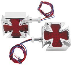 Biker's Choice LED Maltese Cross Turn Signals ()