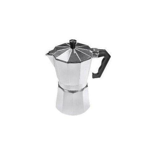 6 Cup Moka Aluminum StoveTop Espresso Pot Coffee Maker