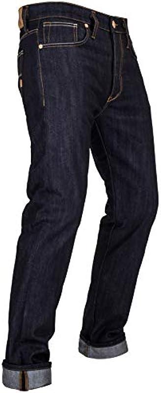John Doe Ironhead XTM spodnie motocyklowe, z ochraniaczami, oddychające, dżinsy motocyklowe, dżinsy ze stretchem: Auto
