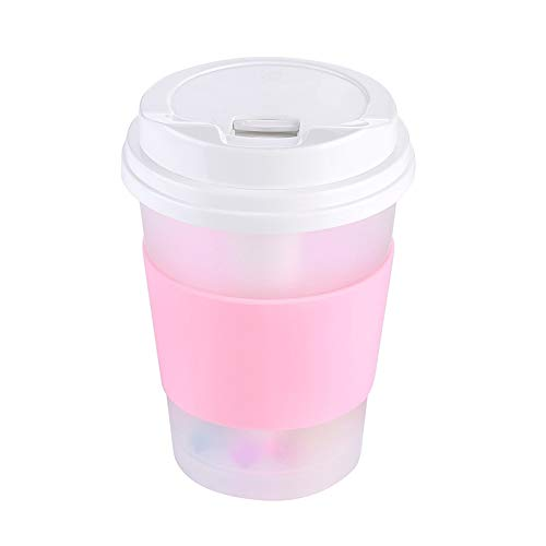 Mini USB Cup Shape Humidifiers Creative Diffuser Colorful Night Lights Air Purifier Low Noise Aroma Humidifier ()