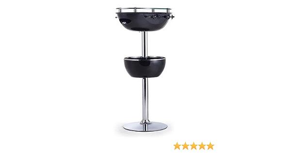 Outsunny Cubo de hielo para jardín, mesa de bar, enfriador de bebidas, soporte de almacenamiento con mesa de futbolín