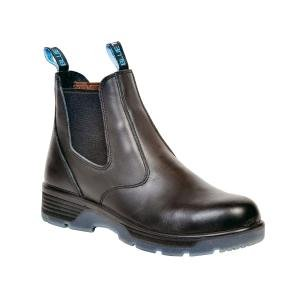 "Blue Tongue botas (btgbtst95) negro 6 ""Slip On Boot, tamaño 9,5"