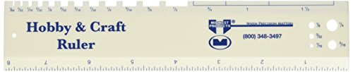 Midwest Products Hobby & Craft Ruler