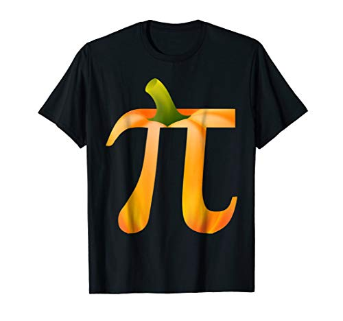 Funny Pumpkin Pi T-shirt Gift Halloween Costume Math Pun]()
