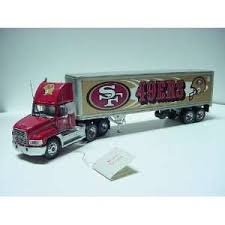 Franklin Mint Die-Cast Mack Truck with 49ers Logo