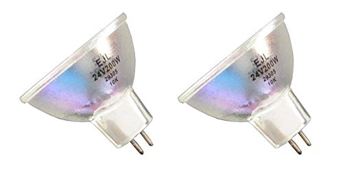 (2pcs EJL 24V 200W Donar Bulb for Eiki Projector Movie ENT 0 1 2 3 - ENT3 ESL1 ESL2 M0 M1 M2 M3 NT0 NT1 NT2 NT3 RST RT 0)
