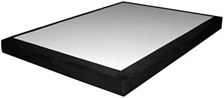 Alitea Somier 130 x 190 somier Déco Negro Deco: Amazon.es: Hogar