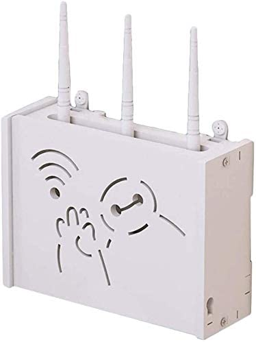 Caja de almacenamiento Router Router de montaje en pared Set ...