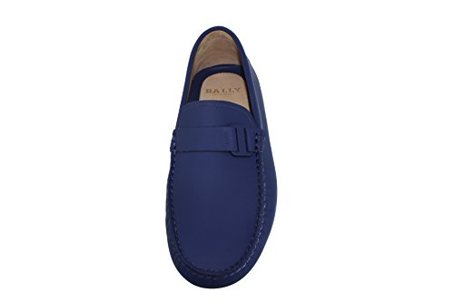 Bally Dreyfus Moccasins Electric Blue