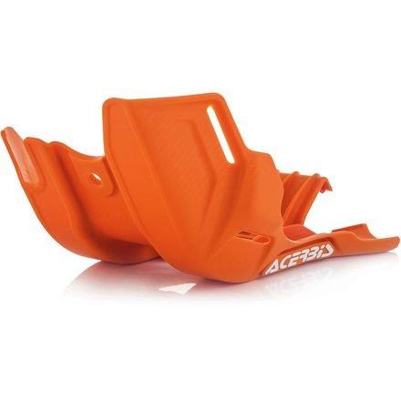 Acerbis Skid Plate - Orange 2630545226 (Engine Cover Skid Plate)