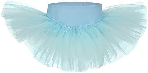 tanzmuster Falda tutú de Ballet Pia para niñas en Azul Claro ...