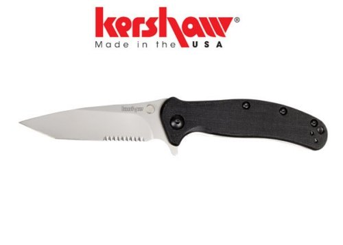 Kershaw Zing-Tanto -Serrated, Outdoor Stuffs