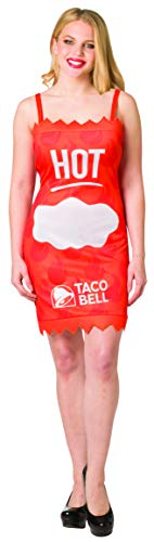 Taco Bell Hot Sauce Packet Costumes - Taco Bell Sauce Packet Orange Hot