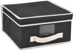 SUNBEAM STORAGE BOX MEDIUM BLK (Ornament Banker)