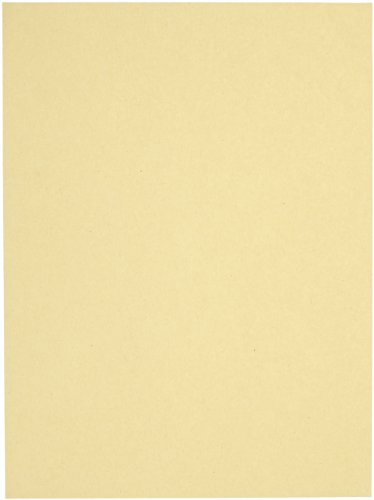 Sax Multi-Purpose Drawing Paper, 56 lbs, 9 x 12 Inches, Manila Cream, Pack of 500 - - Paper Drawing Cream