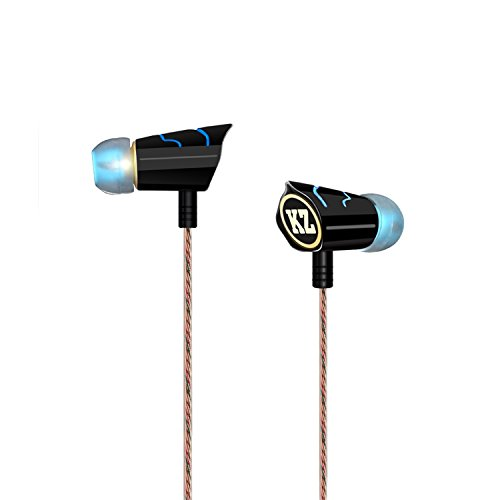 Hi Definition Music Earphones,GranVela KZ8 In-ear Headphones with Hi Quality OFC Wire, For iPhone and Android Phones (Unique Stylish Outlook) For Sale