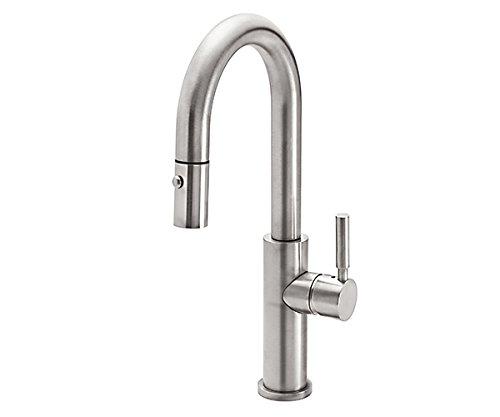 California Faucets K51-101-XX-PC|Corsano Pull-Down Prep/Bar Faucet, Polished Chrome