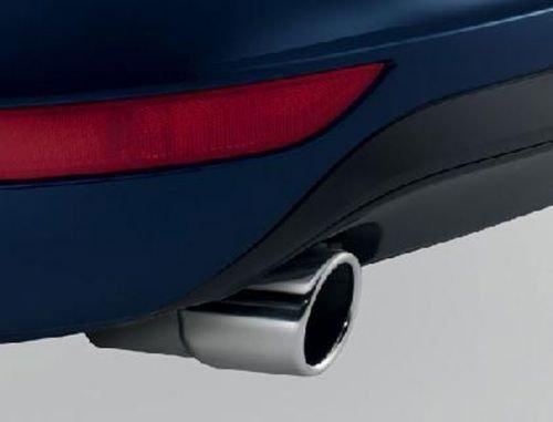 Auspuffblende VW Passat B7 Original Zuning Zubehö r Blende Endrohr Chrom Original Volkswagen Ersatzteile