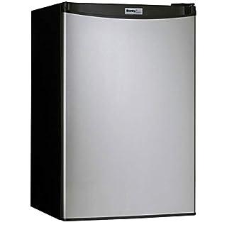Danby DCR044A2BSLDD-3 4.4 cu. ft. Compact Refrigerator, Steel (B078GZDJ4N)   Amazon price tracker / tracking, Amazon price history charts, Amazon price watches, Amazon price drop alerts