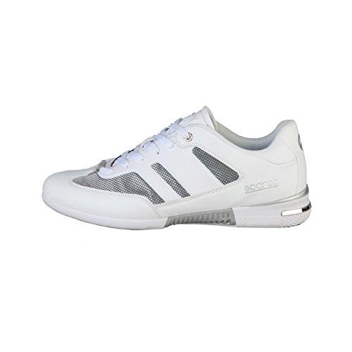 Sparco Men's Sneakers MOTEGI - White - 40 (Sparco Mesh)