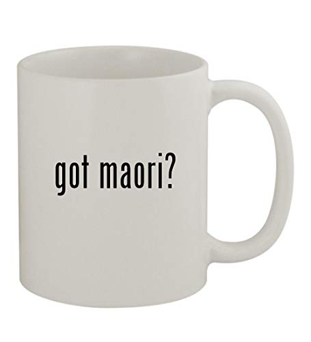 got maori? - 11oz Sturdy Ceramic Coffee Cup Mug, White