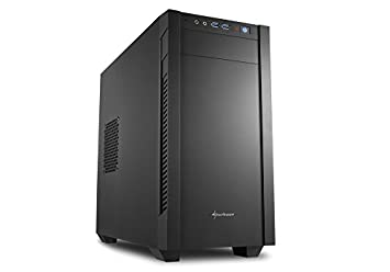 Sharkoon S1000 - Caja de Ordenador, PC Gaming, MICRO-ATX, Negro: Amazon.es: Informática