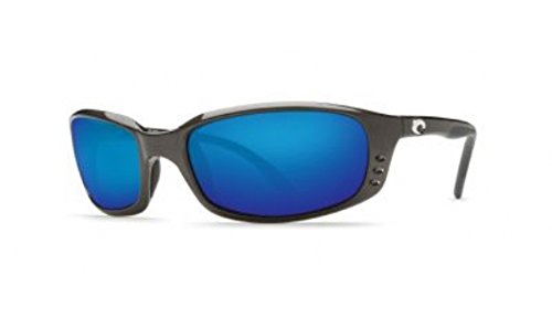 Brine Gunmetal Blue Mirror Glass - Models Del Mar Costa