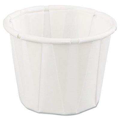 Genpak White Paper Portion Cup, 3/4 Ounce - 5000 per case. by Genpak (Image #1)