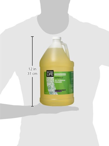 Better Life Natural All Purpose Cleaner Concentrate, Clary Sage & Citrus, 128 Ounces, 2409H by Better Life (Image #3)