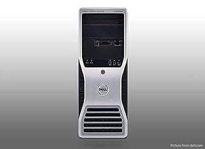Dell Precision T5400 Workstation Tower ( Intel Xeon Quad Core 2.3 GHz processor, 16GB DDR2 RAM, 2TB Hard Drive, WiFi, Dual Video Output, DVD-RW, Microsoft Windows 10 Professional 64-Bit)