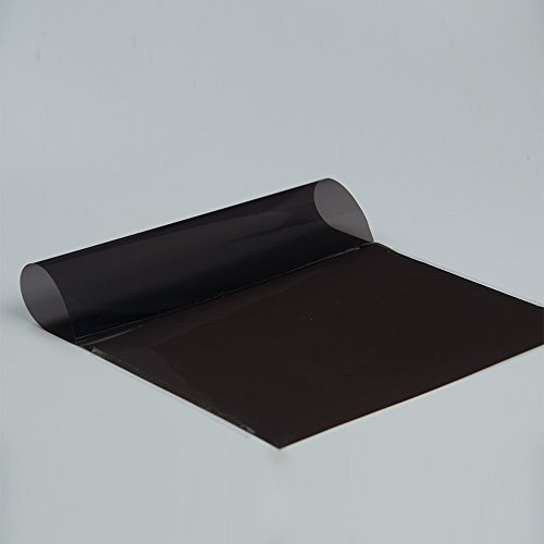 Dark Brown Good Privacy Protection Sun Shade Window Tint Vinyl Film Glue Tinted Solar Tint 20in x60in by HOHO (Image #3)
