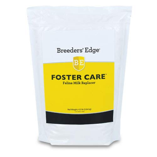 Revival Animal Health Breeders' Edge Foster Care Feline- Powdered Milk Replacer- for Kittens & Cats- 4.5 Lb by Revival Animal Health