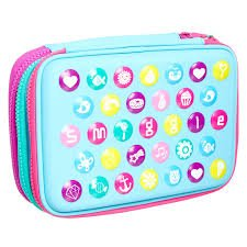 super popular 1f5d8 197dd Smiggle Triple Hardtop Pencil Case: Amazon.co.uk: Office Products