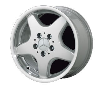 Attractive 17u0026quot; 5 Spoke U0026quot;AMG Styleu0026quot; Alloy Wheels For Mercedes Benz   Set