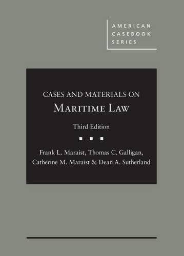 Maritime Law (American Casebook Series)