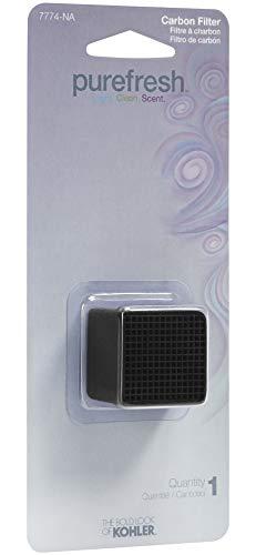 (Kohler K-7774 Replacement Carbon Filter for Kohler Purefresh Toilet Seat, N/A)