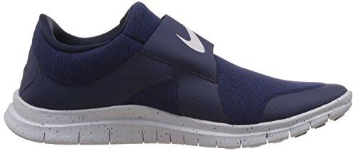 Nike Free Socfly - Zapatillas para hombre Mid Nvy/Mid Nvy-Obsdn-Pr Pltnm