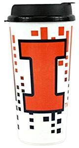 The Memory Company NCAA Illinois Illini Hype Travel Cup, 32-Ounce