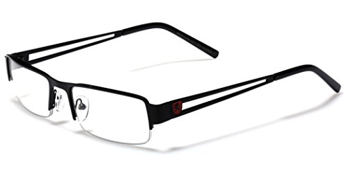 Small Rectangular Frame Clear Lens Designer Sunglasses RX Optical Eye - Rx Glasses
