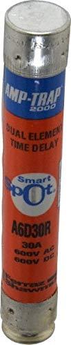 600 VAC/VDC, 30 Amp, Time Delay General Purpose Fuse pack of 3
