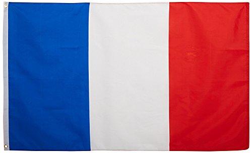 LF inc. Brand New - 3 x 5 Foot France Flag - UV Fade Resista